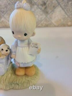 1977 Precious Moments God Loveth A Cheerful Giver. Retired. Hard to find