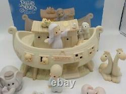 1992 PRECIOUS MOMENTS Two By Two The Noah's Ark Story 8 Piece Set w Boxes
