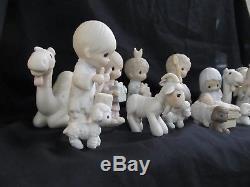 19 Piece Precious Moments Nativity Collection