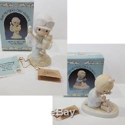 19 Precious Moments Figurines Lot Collectors Members Original 21 Rare Vintage