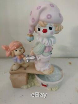 2001 Precious Moments -Clown Figurines -Worldwide Limited Edition Of 5,000