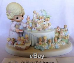2002 Precious Moments 25th Anniversary Limited Edition From the Beginning NIB