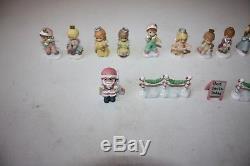 40 Precious Moments Hawthorne Village Mini Figurines & Accessories EUC