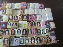 87 piece lot Precious Moments ornaments & figurines in original boxes nice stuff