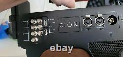 AJA cion PROFESSIONAL VEDIO CAMERA with Caring Box