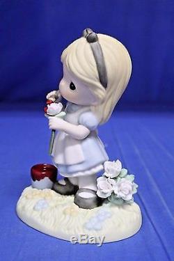 Alice You Make My World a Wonderland Figurine Disney Precious Moments 1930007
