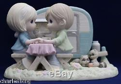 BNIB Precious Moments I'M A HAPPY CAMPER WHEN I'M WITH YOU, 104048 Limited Ed