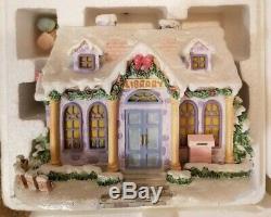BRADFORD Exchange Hawthorne Village PRECIOUS MOMENTS 10 House Set WithBoxes & COA