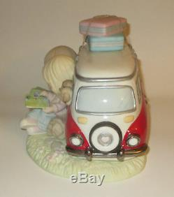 Being With You Best Adventure Precious Moments VW Van Couple Figurine Map NWOB