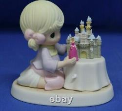 Disney Aurora Precious Moments A World of My Own Figure 690004 Castle Signed