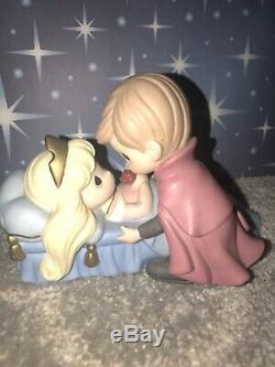 Disney Precious Moments Believe in the Power of True love Sleeping Beauty Aurora