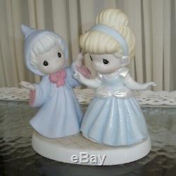 Disney Precious Moments Cinderella Fairy Godmother You'll Always be a Princess