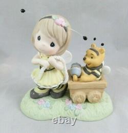 Disney Precious Moments You're Sweet As Honey Winnie The Pooh Figurine