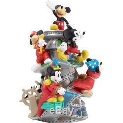 Disney Showcase 2018 Precious Moments Mickey Mouse 90th Birthday Figurine