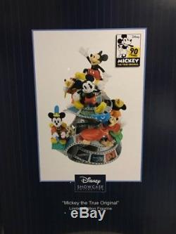 Disney Showcase 2018 Precious Moments Mickey Mouse 90th Birthday Figurine