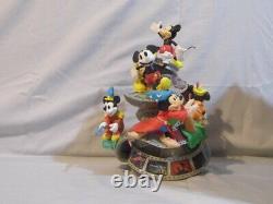 Disney Showcase Precious Moments Mickey The True Original 90 Years Figure. RARE