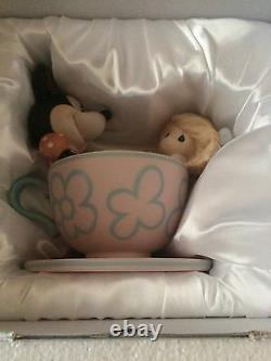 Disney Theme Park Exclusive Precious Moments You Are MyCup Of Tea NEW IN BOX
