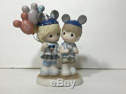 Disneyland Diamond Celebration Precious Moments 60 Years Of Happiness Figure New