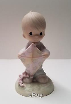 EXCLUSIVE 1990 Precious Moments High Hopes 521957 Gift from Sam to Rex