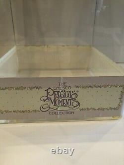 Enesco Precious Moments Figurine Production Display Unit, Never Displayed