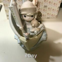 Enesco Precious Moments This Land is Our Land 1992 Columbus Figurine