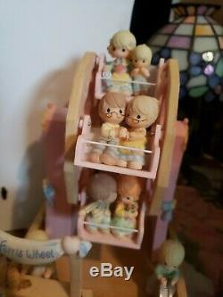 Exclusive Precious Moments Musical Ferris Wheel Very Rare