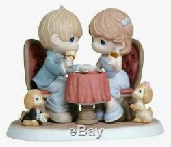 Extremely Rare LE 3000 Romantic Dinner-Every Precious Moment WithYou Is Precious