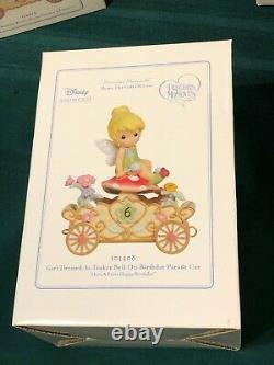 Full Set 13-precious Moments Disney Princess Birthday Train Original Open Boxes