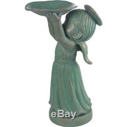 Garden Gifts Precious Moments Chapel Angel Birdfeeder-171481