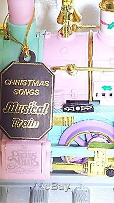 Girls Precious Moments Christmas Holiday Train Set Sugar Town Express with Video