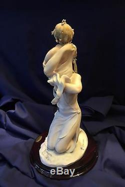 Giuseppe Armani Abiding Love Italian Figurine Knelt Maternity withCOA App. $4K