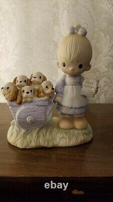 God Loveth A Cheerful Giver precious moments figurine