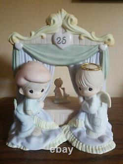 Hand Signed X2 Limited Figurine The World Is A Stage Featuring Precious Moments