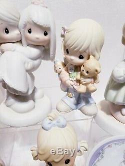 Huge lot of around 15 Precious Moments figurines. Excellent condition. No boxes