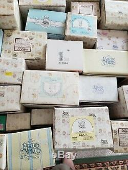 Large Lot Of Boxed Precious Moments! Special Edition Jonathan David Lot of 56