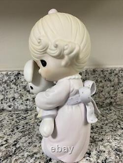 Limited Edition 104531 Precious Moments Enesco Jesus Loves Me Girl 248/1000 9