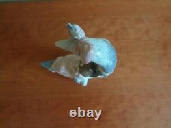 Lladro Heaven's Lullaby Baby Girl on Moon Porcelain Figurine # 6583 Retired