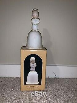Lot Of Ten Precious Moments Collectible Figurines From 1984 With Boxes And Tags