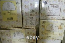 Lot of 45 Vintage Enesco PRECIOUS MOMENTS FIGURES (1978-1987) in Boxes