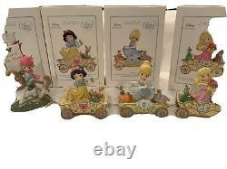 Lot of (4) Precious Moments Disney Showcase Birthday Parade FigurinesNEW MIB