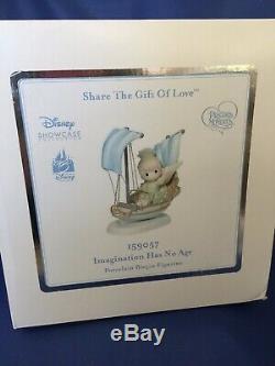 NIB! Precious Moments Disney Tinker Bell IMAGINATION HAS NO RIDE Park Exclusive