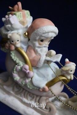 NIB Precious Moments THE TRUE SPIRIT OF CHRISTMAS GUIDES THE WAY, 104784 Ltd Ed