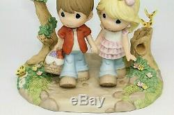 NIB Precious Moments YOU AND ME WE'RE MEANT TO BE 134022 Limited Edition COUPLE