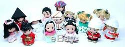 New Disney Parks Precious Moments It's a Small World 14 Doll Set Series 1 & 2