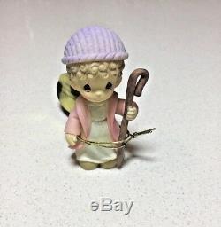New Very Rare Precious Moments The Holy Family and Nativity Figurine Set