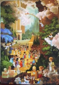 PRECIOUS MOMENTS 2012 Hallelujah Square 129910 Chapel Exclusive VERY RARE