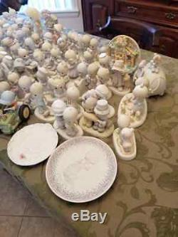 PRECIOUS MOMENTS COLLECTION 91 Pieces! Figurines plates cups