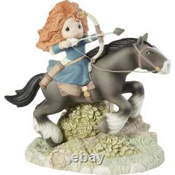 PRECIOUS MOMENTS Disney & Pixar MERIDA Take Your Future By The Reins LIMITED New
