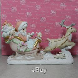 Precious Moment Figurine, 104784 The True Spirit Of Christmas Guides The Way, 10