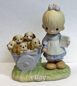 Precious Moment Figurine, E-1378 God Loveth a Cheerful Giver no box